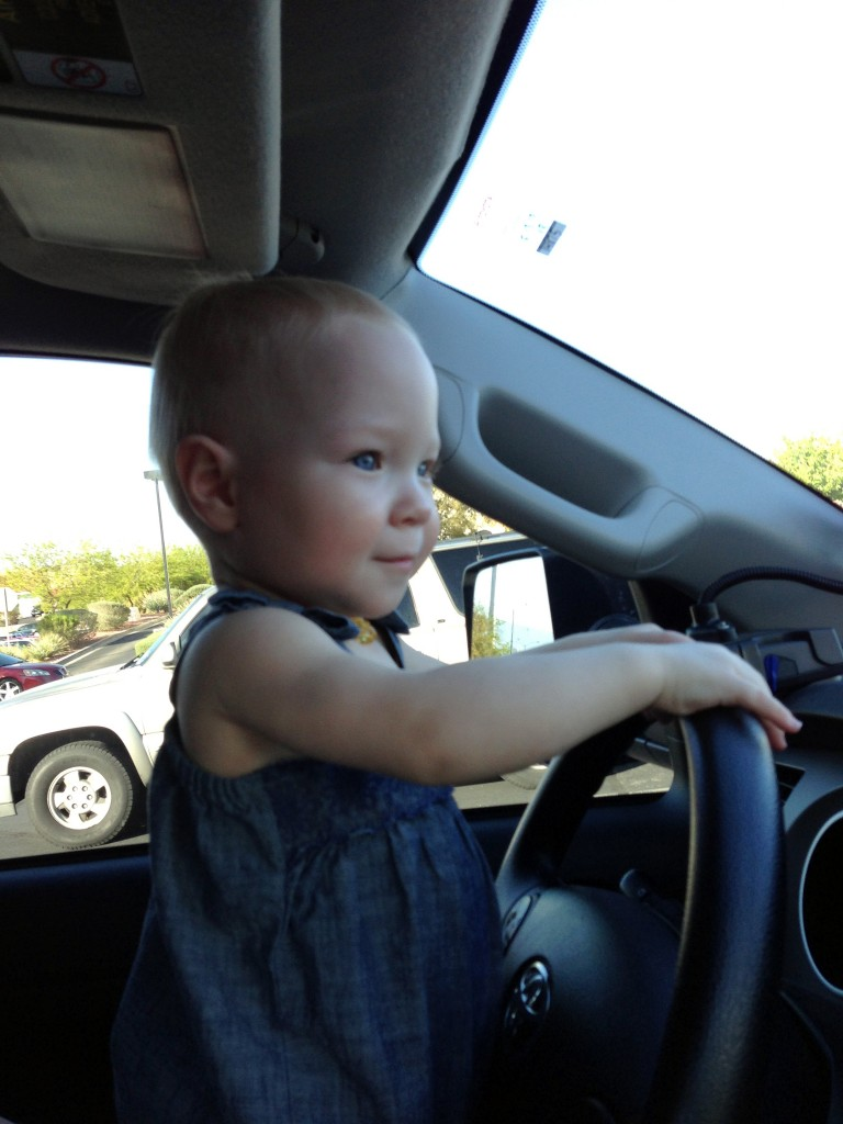 "Sophia ""driving"""